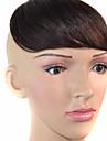 Offre speciale pour les nouveaux sans soudure frange obliques visage modifie deux couleurs en option