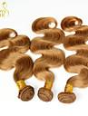 Mänskligt hår - Blond - HÅRFÖRLÄNGNING - till Dam - Vågigt/Kroppsvågor