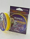 100M / 110 Yards PE Braided Line / Dyneema / Superline Fishing Line Yellow 28LB / 25LB / 20LB / 18LB / 10LB / 8LB / 15LB
