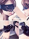 Sexy S M Props  Black Lace Goggles & Gloves Halloween Accessories