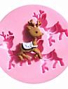 Moule de Cuisson Animal Pour Gateau Pour Cookie Pour Tarte Silikon Ecologique Haute qualite 3D