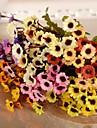 Une succursale Soie Plastique Chrysantheme Fleur de Table Fleurs artificielles #(28*10*10 cm(11*3.9*3.9 in))