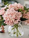 cinci carne roz hygrangeas artificiala flori cu vază