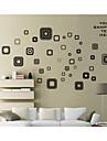 väggdekorationer väggdekaler, form pvc väggdekorationer