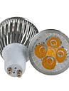 6W GU10 LED-spotlights MR16 5 Högeffekts-LED 450 lm Varmvit / Kallvit Dimbar AC 220-240 V 1 st