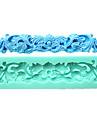 pate de gomme bordure en dentelle moules a gateau fondant au chocolat moule pour l\'outil de decoration de gateau de sucre cuisine de