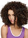 kort syntetisk peruker lockig peruk för afrikansk amerikan svarta kvinnor lockiga peruker