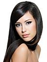 女性は〜24inchインドの髪の色(黒茶色#1#1(B)#2#4)ストレートの髪を焼きフロントかつらの10インチをレース