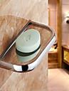 Porte Savon / Gadget de Salle de Bain Chrome Fixation Murale 26*13*7cm(10.2*5*2.7inch) Acier Inoxydable Contemporain