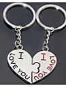 sărut inima nunta romantica breloc breloc pentru ziua iubitul Îndrăgostiților (o pereche)