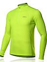 SPAKCT Velo/Cyclisme Maillot / Tee-shirt / Hauts/Tops Homme Manches longues Respirable 100 % Polyester Classique / Mince / Couleur Pleine