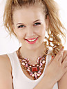 Vintage/Party/Work/Casual Alloy/Gemstone & Crystal/Acrylic Statement