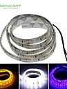 Bandes Lumineuses LED Flexibles - DC12 - ( V ) - 7,5 - ( W Blanc/Jaune/Bleu 120 - 1 - ( M ) - ( Etanche/Decoupable )