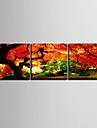 toile set Paysage Moderne Traditionnel,Trois Panneaux Horizontale Imprimer Art Decoration murale For Decoration d\'interieur