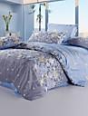 Blom Polyester Ljusblå