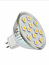 2W LED-spotlights MR16 12 SMD 5050 200 lm Varmvit / Kallvit DC 12 V 1 st