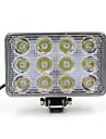 LED - Dimljus/Varselljus/Läslampa/Backljus/Inspektion lampa/Arbetsljus ( 6000K , Spotlight/Dekorativ/Vattentät/Vindtät ) -