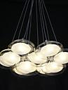 1.5 W Hängande lampor ,  Modern Krom Särdrag for Flush Mount Lights Metall Living Room / Bedroom / Dining Room / Sovrum / Matsalsrum