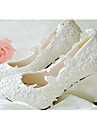 Homme-Mariage-Blanc-Gros Talon-Talons / Bout PointuCuir