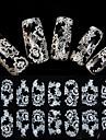 Blomma/Bröllop - Finger - 3D Nagelstickers - av Andra - 1 - styck 15X7.5X0.2 - cm