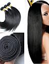 3pcs / lot 8inch-30inch brasilianska hårfärg (naturligt svart) rakt hår