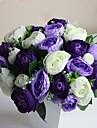 """Fleurs de mariage Rond Pivoines Bouquets Mariage Polyester 5.91""""(Env.15cm)"""
