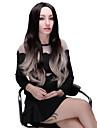 Perruque - Noir - Ondulation Naturelle - en Fibre synthetique  - pour Femme