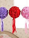 6 pouces de mousse santin artifiical baisers fleurs rose boules bouquet de mariage decoration de voiture