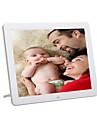 ecran 12inch HD 800 * 600 super slim cadre photo numerique en pleine fonction pour la photo / musique / video