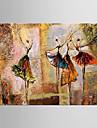 Peint a la main Paysage / A fleurs/BotaniqueModern Un Panneau Toile Peinture a l\'huile Hang-peint For Decoration d\'interieur
