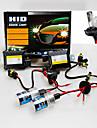 Lampe Frontale (12000K , Puissance elevee/Etanche/Pare-vent) Xenon HID -Automatique/SUV/Vehicule de Transfert