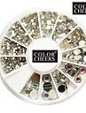 500PCS 6-Size Arcylic Diamond Nail Art Decorations