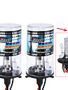 1 Pair 35W 12V H4-2 9003 8000K Xenon Hi/Lo Beam HID Replacement Bulbs For Headlight