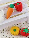 legumes de bande dessinee assembler gomme en caoutchouc (couleur aleatoire)