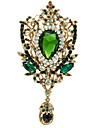 Women\'s Jewelry Rhinestone FlowerBrooch Broach Pins  (More Colors)