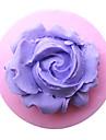 mini blomma Polymer Clay blomma tårta mögel silikon bakning verktyg dekorationer till tårtor godis choklad