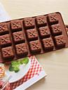 bakeware silikonpresentförpackning formade bakning formar för choklad