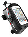 ROSWHEEL® Sac de Velo 1.8LSac de cadre de velo Sac de telephone portable Multifonctionnel Ecran tactile Sac de CyclismePVC Polyester 600D