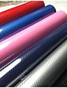ny produkt 5d kolfiber bil omslagsfilm bil klistermärken storlek: 1m * 1.52m 5color