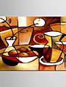 живопись маслом декоративная современный абстрактный ручной росписью холст с растянутыми оформлена