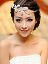 נשים שרף כיסוי ראש-חתונה אירוע מיוחד שרשרת ראש חלק 1