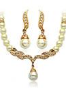 Alliage/Zircon/Imitation de perle Vintage/Soiree pour Femme