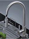 American Standard Deck Mounted Single Handle One Hole with Nickel Brushed Kitchen faucet