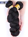 """1 st / lot 12 """"-28"""" 6a brasilianska jungfru hår löst våg människohår väft 100% obearbetat brasilianskt remy hår väver"""