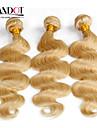 top 7a eau de Javel blond 613 extension de cheveux vierge de cheveux vingin bresilien vague de corps bresilienne de cheveux humains