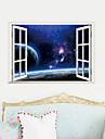 3d vägg klistermärken väggdekaler, vackra landskap pvc väggdekorationer