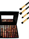 Cosmetics 88 Colors Neutral Eyeshadow Palette+4PCS Pencil Makeup Brush