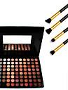 cosmetici 88 colori ombretto neutro + 4pcs spazzola matita di trucco