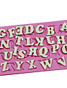 majusculă alfabet engleză în formă coace fandant tort choclate bomboane tort mucegai decorare ambarcațiune de zahăr mucegai
