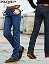 A bărbaților Pantaloni A bărbaților Casual Pur Bumbac/Denim